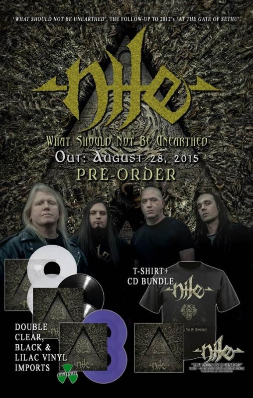 nile 2015 preorder What should not be unearthed