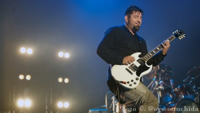 Chino Moreno of The Deftones. Photo Credit: Scott Uchida