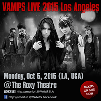 vamps los angeles 2015