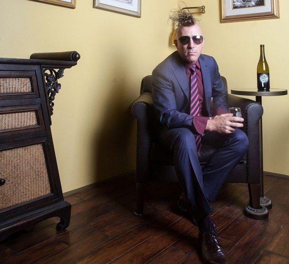 Maynard James Keenan of Tool, photo credit Jim Louvau