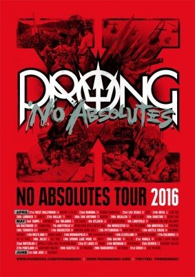 prong no absolutes north american tour 2016