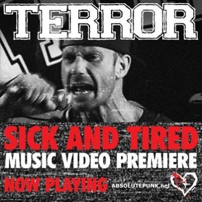 terror sick and tired