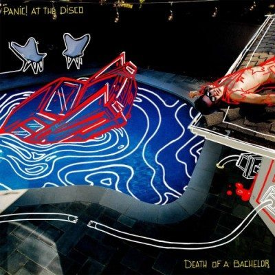 Panic At The Disco Death Of A Bachelor Album cover