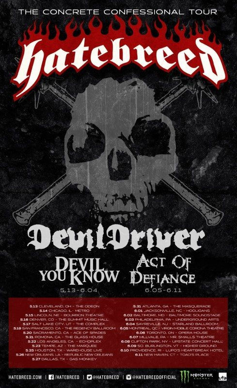 Hatebreed devildriver tour