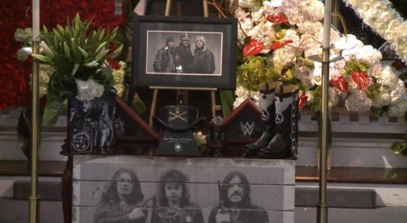 Lemmy's funeral