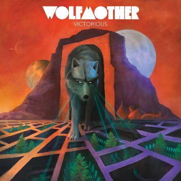 Wolfmother vioctorious album cover 2016
