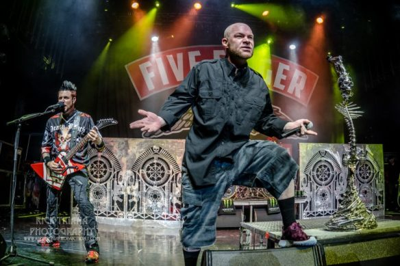 Five Finger Death Punch on ShipRocked, by Rick Triana