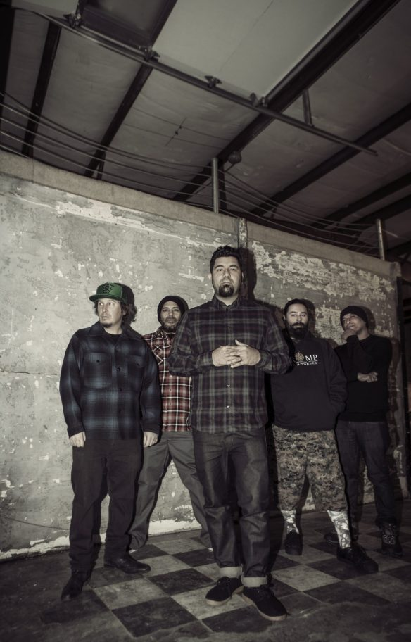 Deftones, photo credit : Frank Maddocks
