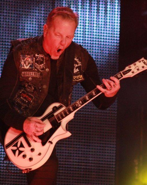 James Hetfield of Metallica, by Victoria Anderson ghostcultmag
