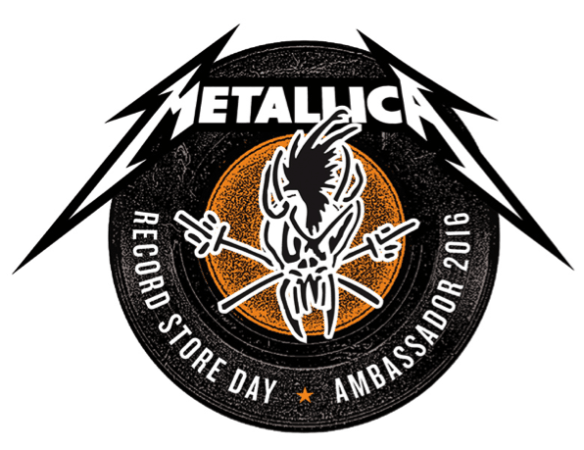 Metallica record store day ambassador 2016 ghostcultmag