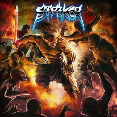 Striker Stand in the Fire album cover 2016 ghostcultmag