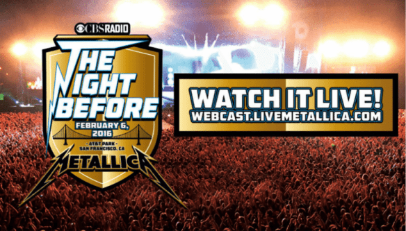 The Night Before Metallica live stream ghostcultmag