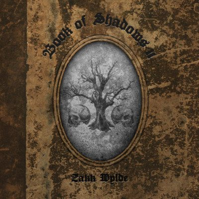zakk wylde book of shadows II album cover ghostcultmag