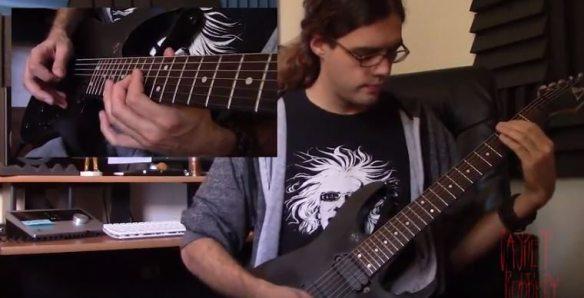 casket robbery cory schieder guitar playthrough ghostcultmag