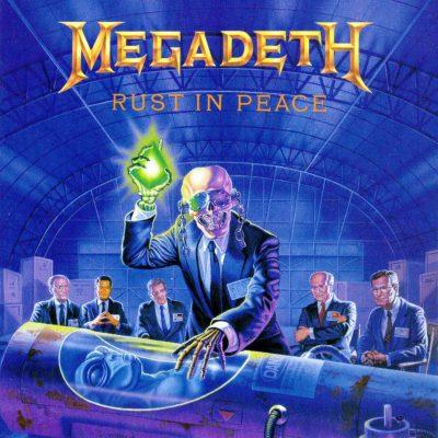 Megadeth Rust In Peace album cover Ghostcultmag