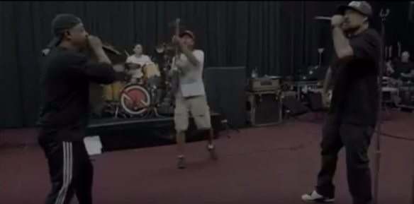 Prophets of Rage still image from behind the scenes video