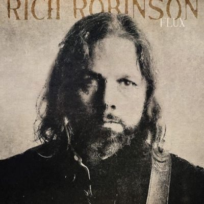 Rich robinson Flux album cover ghostcultmag