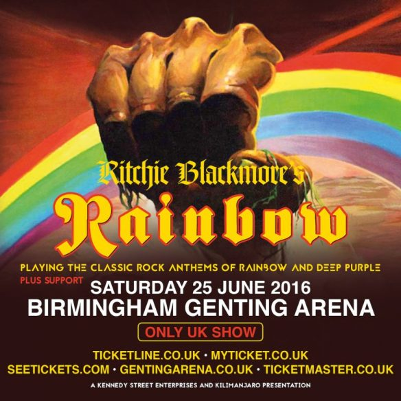 Ritchie Blackmore's Rainbow Genting Arena ghostcultmag