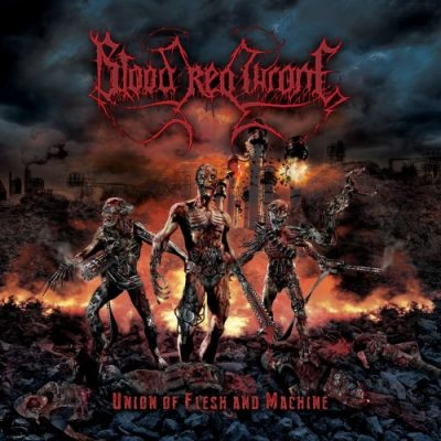 Blood Red Throne – Union of Flesh and Machine cover ghostcultmg