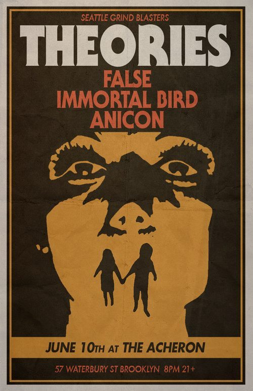 Theories, Immortal Bird, False, Anicon Live At Archeron ghostcultmag