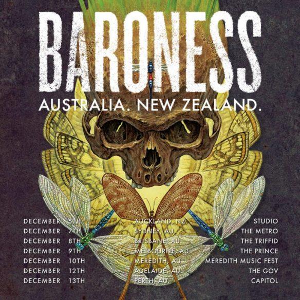 Baroness Australia And New Zealand tour 2016 ghostcultmag