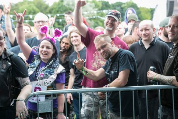 Bloodstock 2016 Thursday crowd, photo credit BOA on Facebook