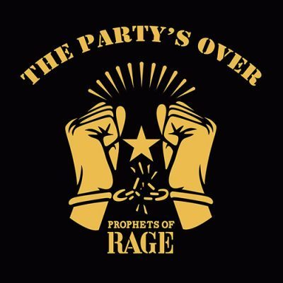 Prophets Of Rage - The Partys Over ep cover ghostcultmag