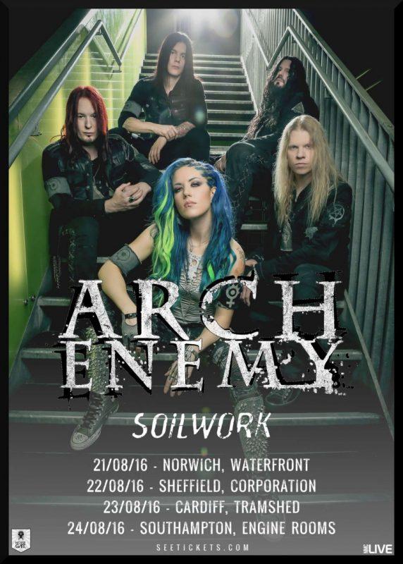 Arch Enemy – Soilwork Live ghostcultmag