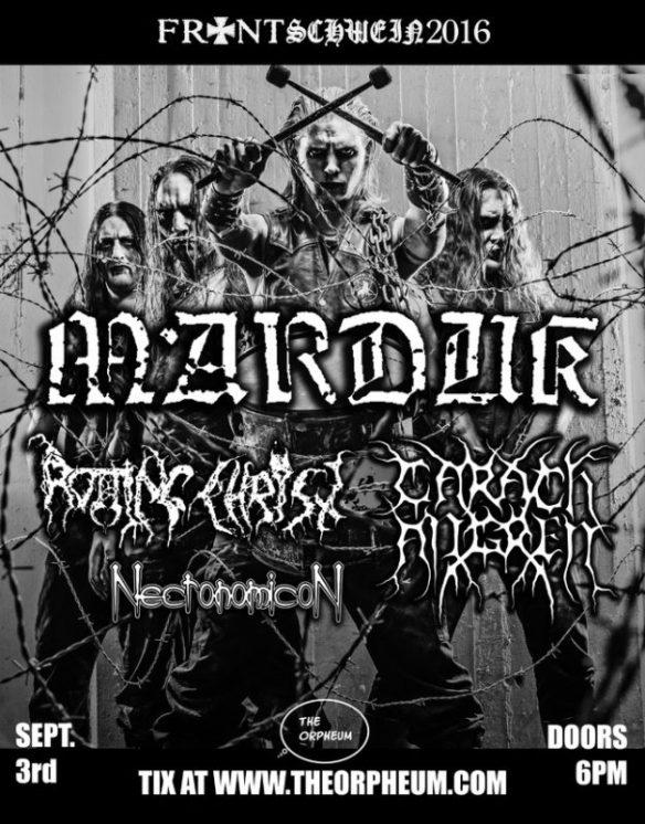 Marduk fall 2016 US tour ghostcultmag