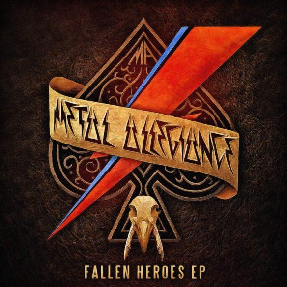 Metal Allegiance Fallen Heroes EP cover ghostcultmag