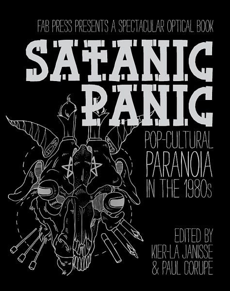 Satanic Panic book cover ghostcultmag