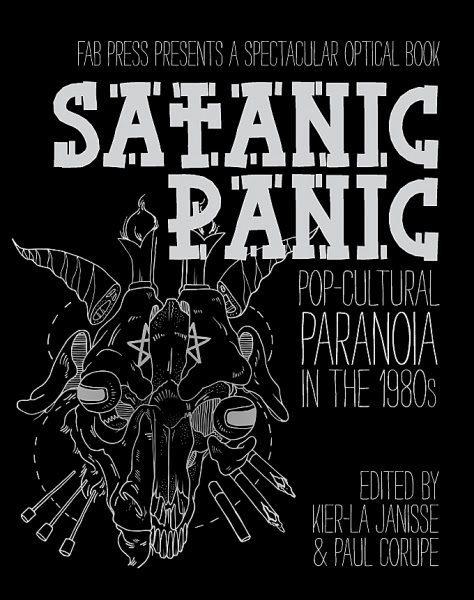 Satanic Panic book cover ghostcultmag