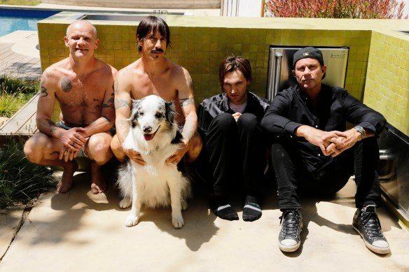 Red Hot Chili Peppers, photo credit Steve Keros