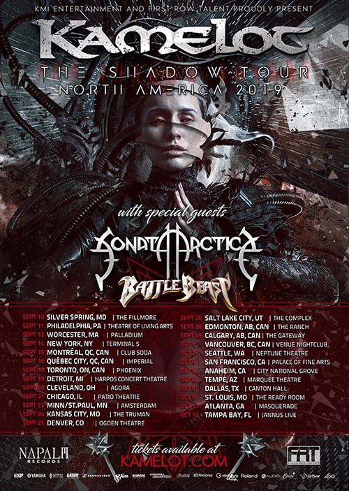 Beyond the black tour 2019
