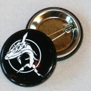 Ghostfish Brewing Logo Button