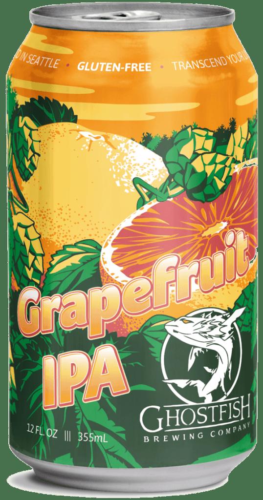 Ghostfish Brewing Grapefruit IPA Gluten Free