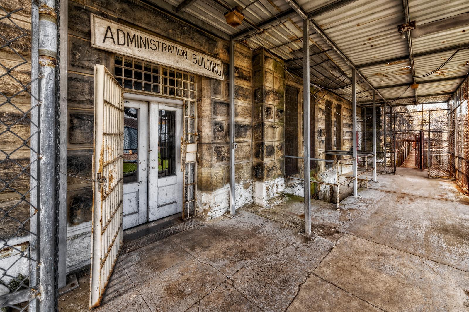 West Virginia Penitentiary Admin Building