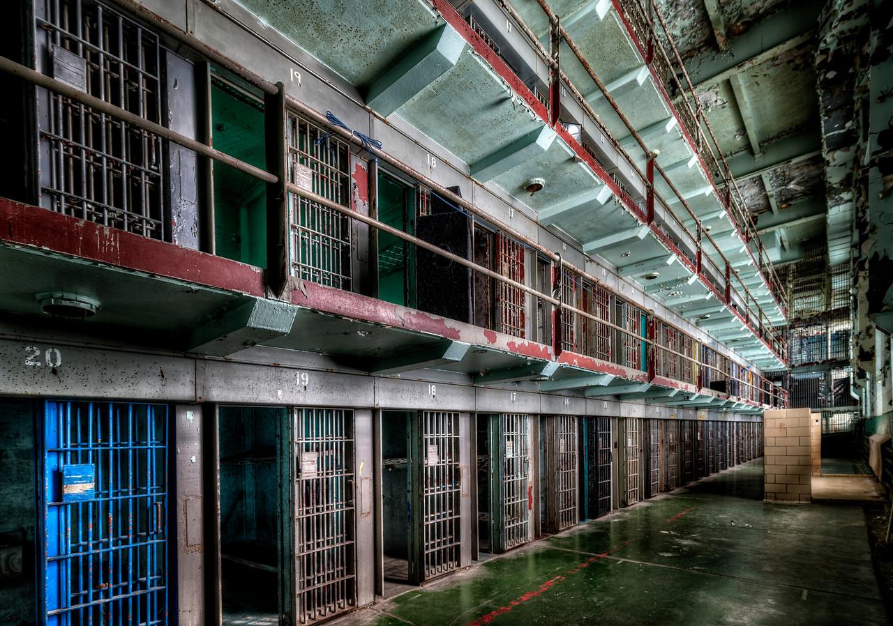 West Virginia Penitentiary Main Cell Block