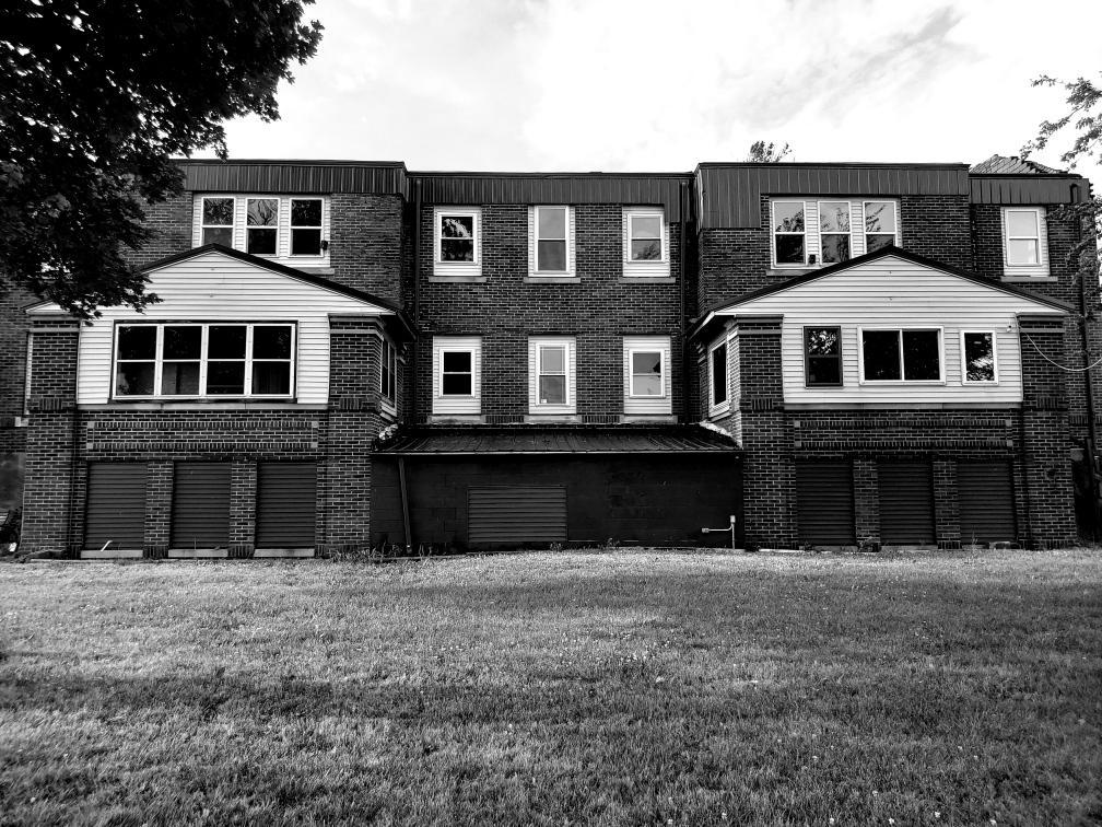 Ashmore Estates outside ghost hunt