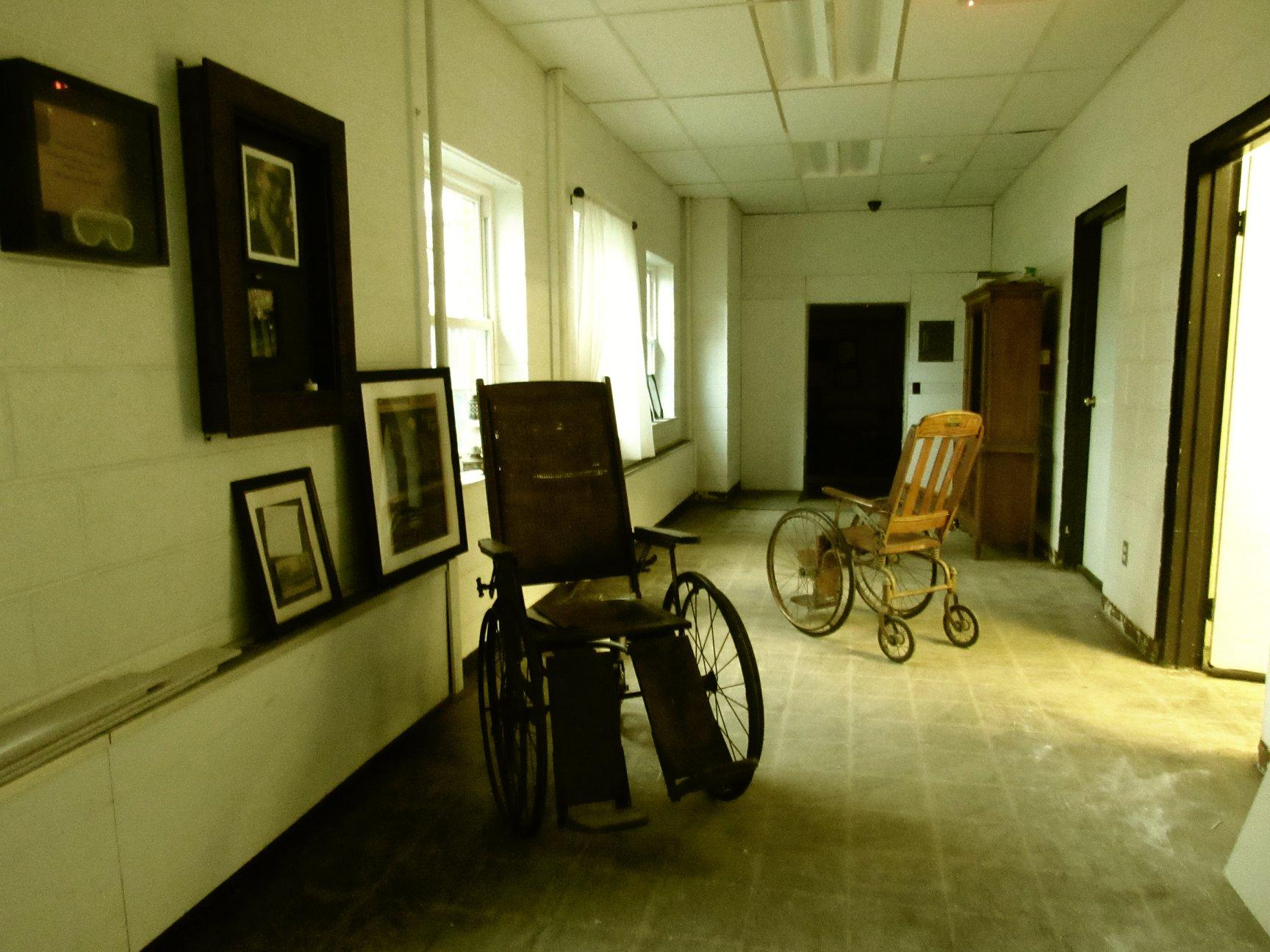 Old Wheelchair Madison Seminary