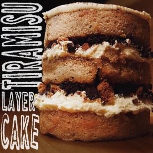 Tiramisu Layer Cake