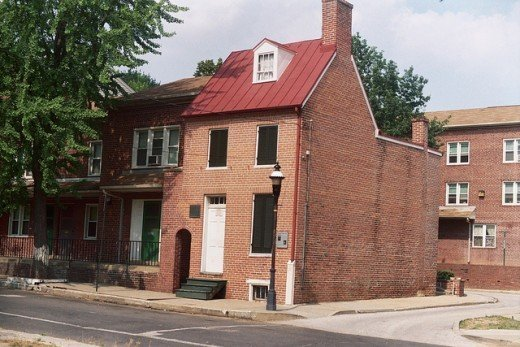 Poe's Haunted home in Baltimore