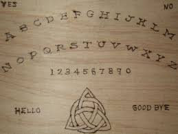 Homemade Ouija Board