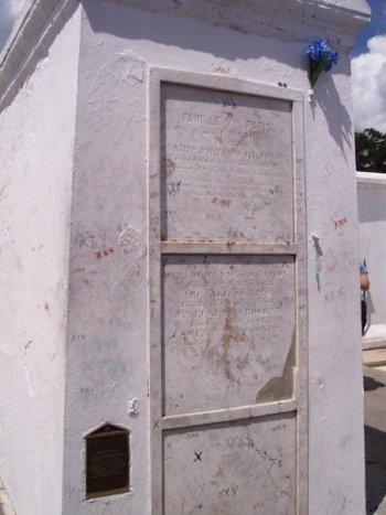 Marie Laveau's Tomb Photo by Patrick Harrington