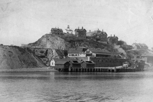 Alcatraz Island - 1895