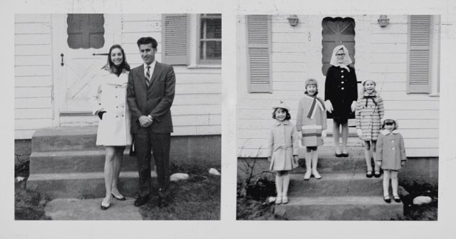The Perron Family - Carolyn, Roger, Andrea, Nancy, Christine, Cindy, April