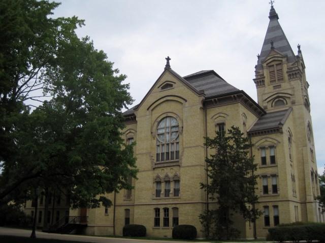 Washington Hall at University of Notre Dame