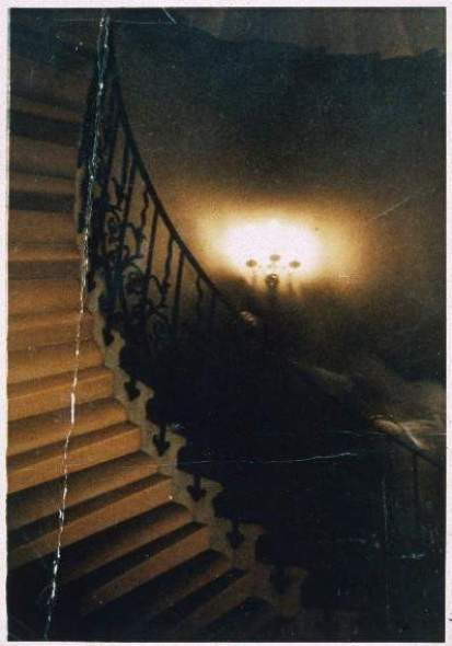 The Rev Hardy 'ghost' photo courtesy of the Mary Evans Picture Library