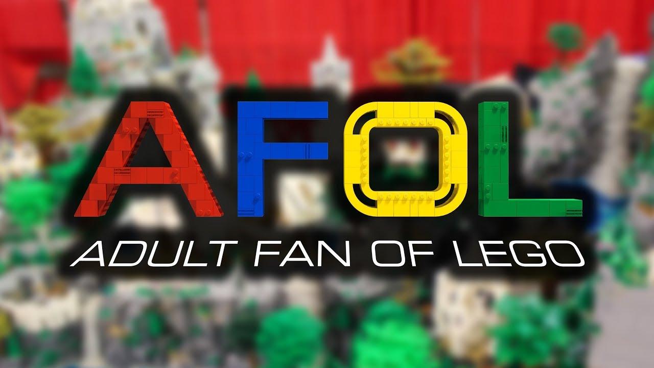 adult fan of lego