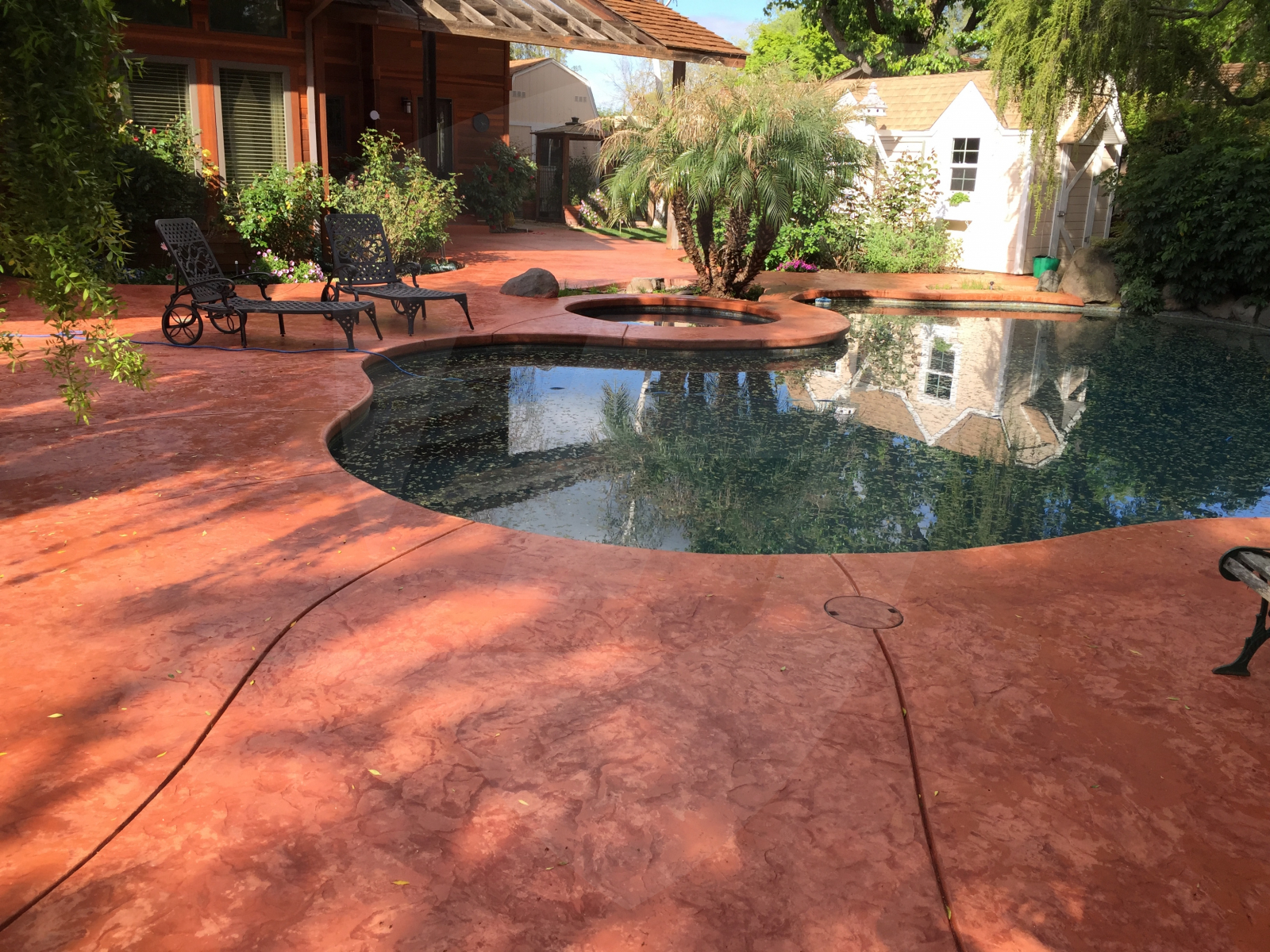 best sealer for colored concrete